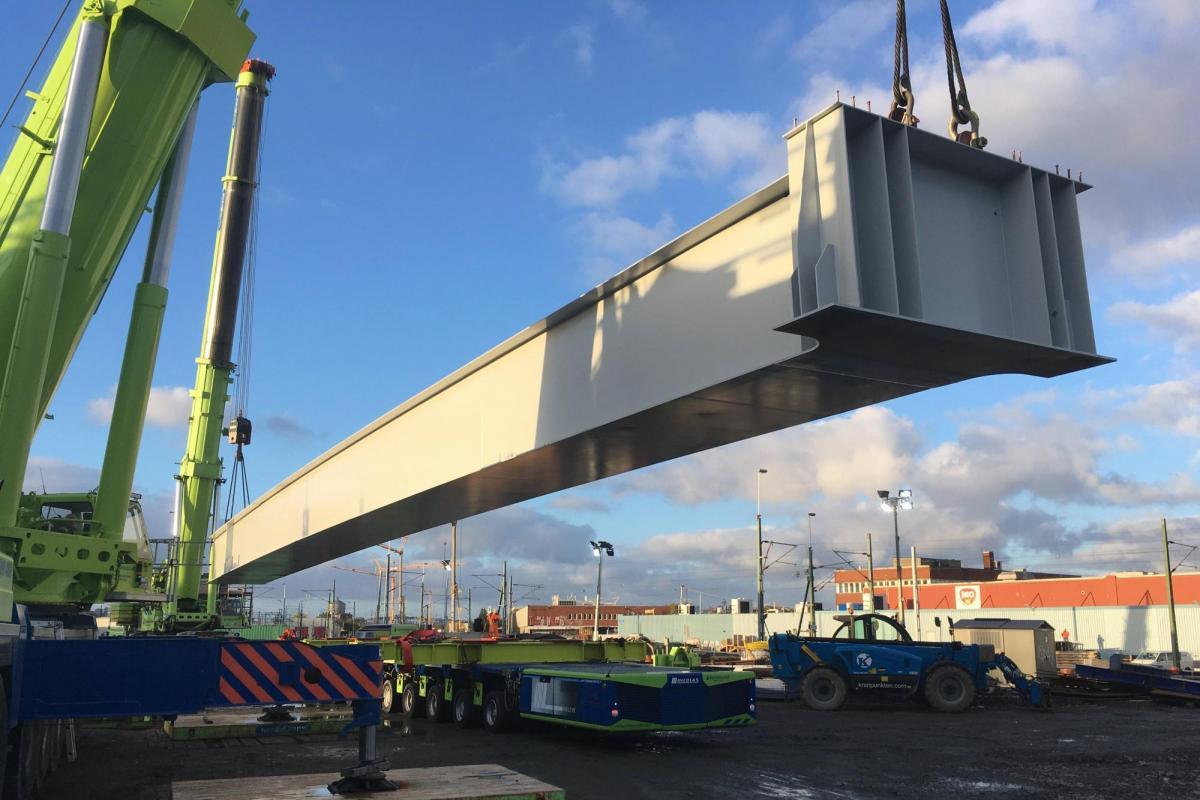 Victor Buyck Steel Construction Olskroken Zweden