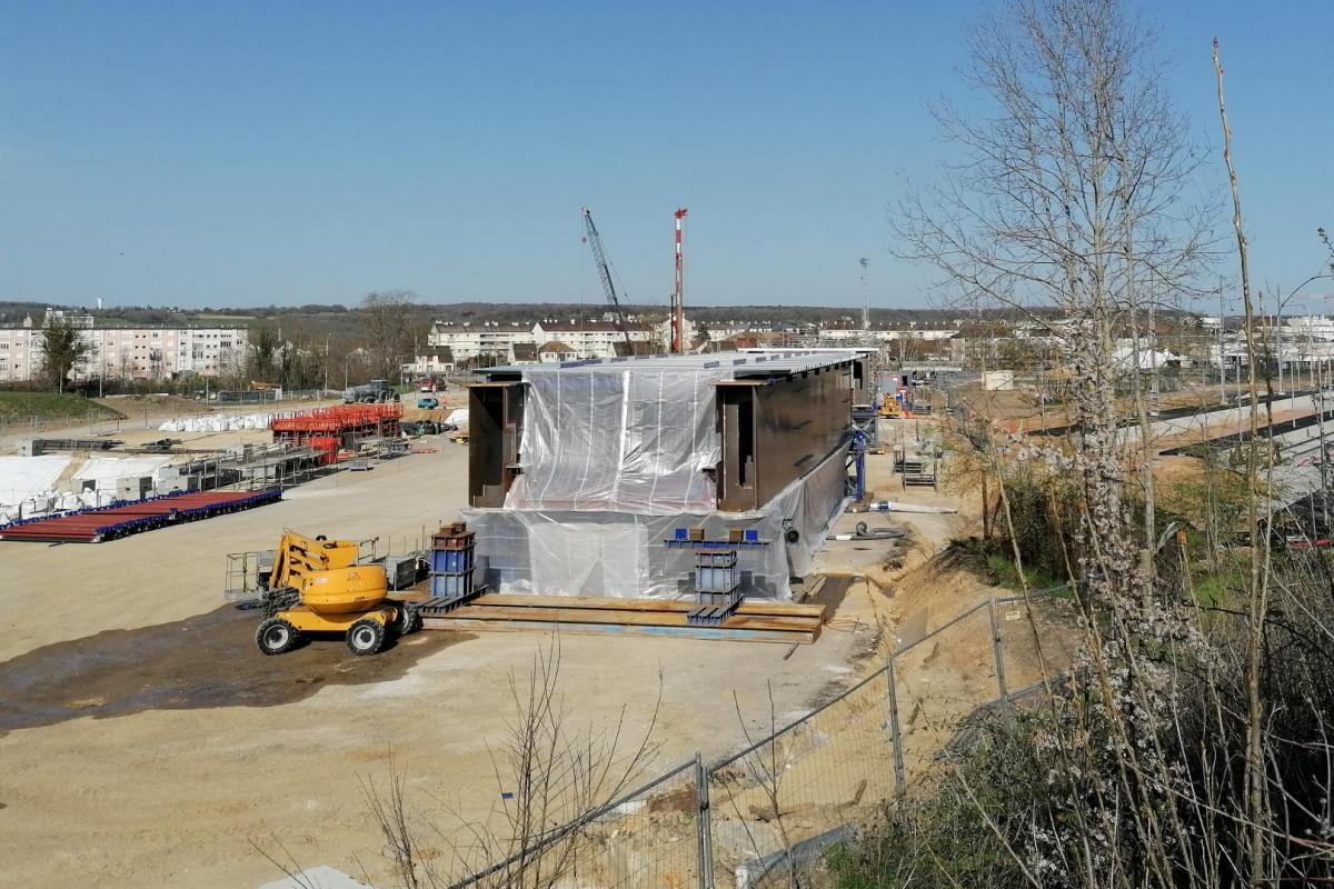 Victor Buyck Steel Construction Mantes-la-Jolie