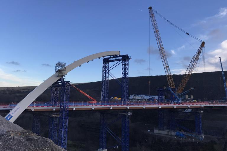 Victor Buyck Steel Construction Heads Of The Valleys Cardiff