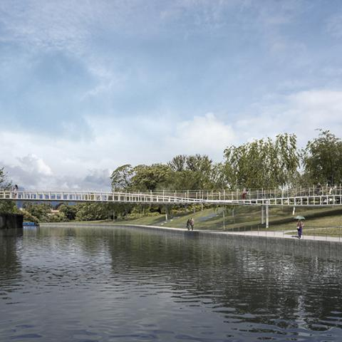 Victor Buyck Steel Construction Bath Quays Bridge (Marc Mimram)