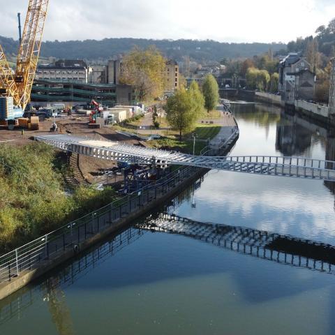 Victor Buyck Steel Construction Bath Quays Bridge