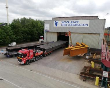 Pont Patton, Victor Buyck Steel Construction