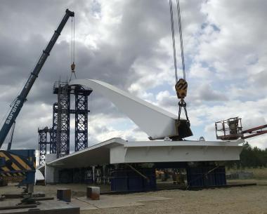 Victor Buyck Steel Construction Fietsersbrug Tessenderlo