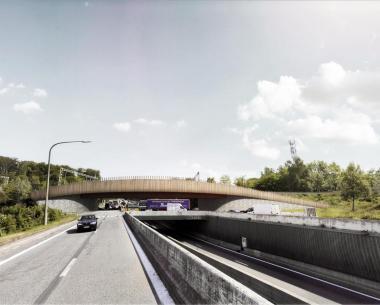 Victor Buyck Steel Construction Ecoviaduct Hoeilaart