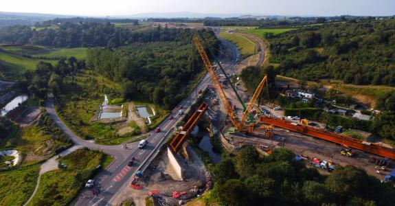 Victor Buyck Steel Construction A6 Dungiven To Drumahoe